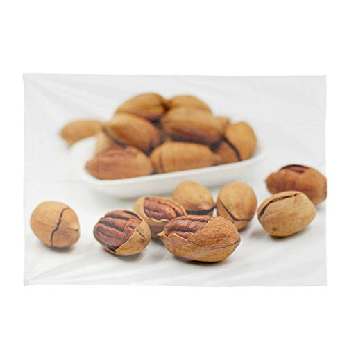 aportt Nuts Pecan Shells Table Cloth Polyester Rectangular Table Cloth of 60x120 Eco Friendly & Safe Green for Kitchen