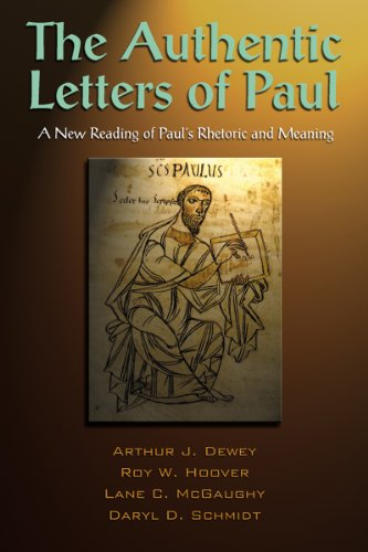 - The Authentic Letters of Paul