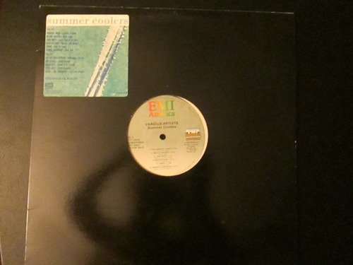 EMI Records Summer Coolers 1985 12 inch record Red Hot Chili Peppers Corey Hart Kim Carnes Limahl George Thorogood