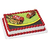 Cars McQueen and Mater Cake Topper
