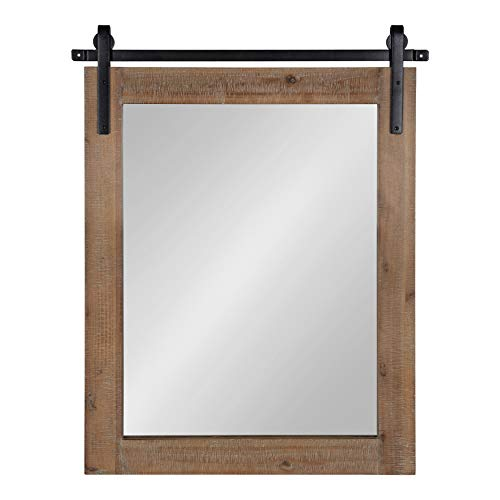 Kate and Laurel Cates Rustic Wall Mirror, 22