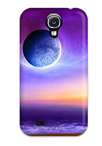 1369155K14221879 Snap-on Case Designed For Galaxy S4- Colorful Space