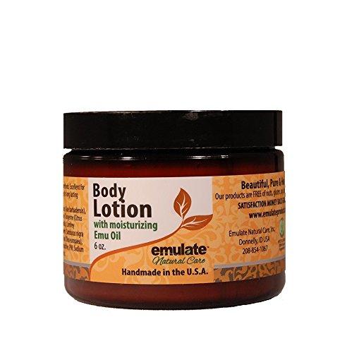 Emu Oil Body Lotion Orange & Bergamont emulate Natural Care 6 oz Lotion