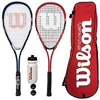 Wilson Pro Raqueta De Squash Set 2x &