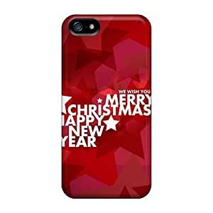Hard Plastic Iphone 5/5s Case Back Cover,hot Merry Christmas Case At Perfect Diy