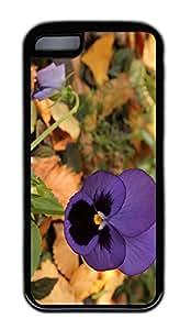 iPhone 5c Case Unique Cool iPhone Cases Personalized Design Lone Pansy Autumn Cases