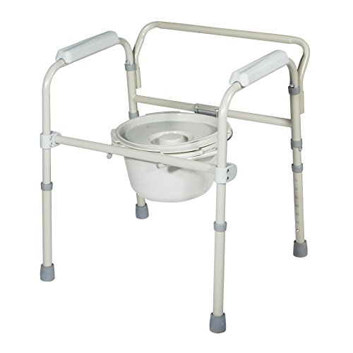 Bedside Commodes Commode Chair Folding Seat Bucket Splash