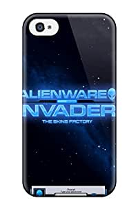 4/4s Scratch-proof Protection Case Cover For Iphone/ Hot Alienware Animated Phone Case