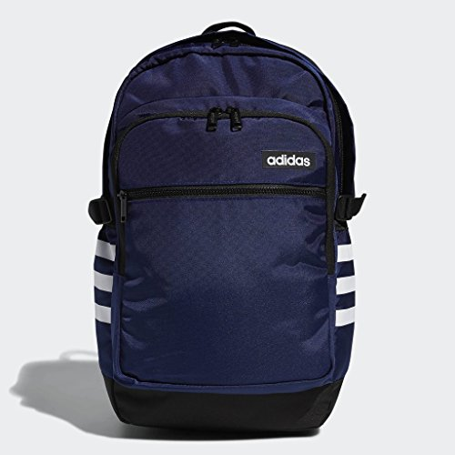 adidas Core Advantage Backpack, Navy, One Size (Adidas Compression Backpack)