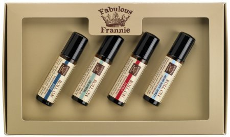 Body Oil Roll (Roll On Mind Body Soul Kit - All Natural ingredients and 100% Pure Essential oils -This Kit includes De-Stress, Energy, MBS and Sleep roll-ons by Fabulous Frannie)