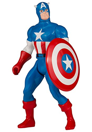 Gentle Giant Studios Marvel Super Heroes Secret Wars Captain America Jumbo Action Figure (Mattel Wars Secret)