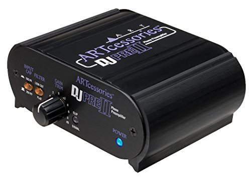 ART Pro Audio DJPRE II Phono Turntable Preamplifier
