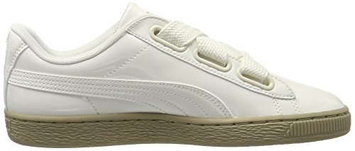Puma Women Basket Heart Patent Low-Top Sneakers White (Marshmallow-marshmallow) wdOLcIfrv