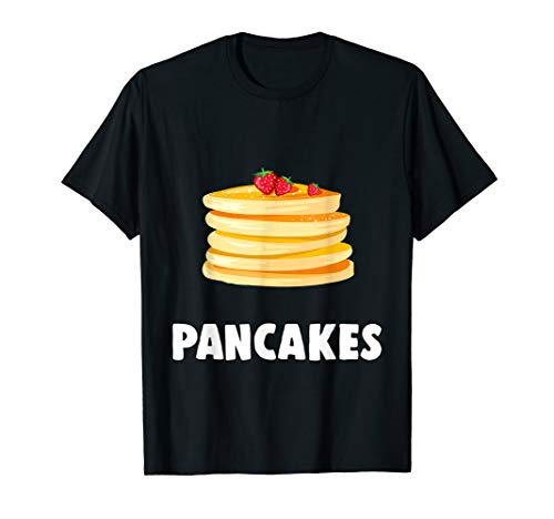 Couple Matching Halloween Costumes Pancakes T-Shirt for $<!--$17.99-->