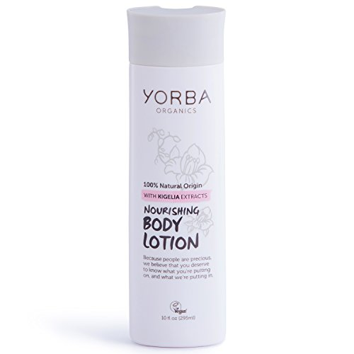 Yorba Organics Nourishing Body Lotion with Kigelia Extracts, 10 Fluid Ounce (Kigelia Extract compare prices)