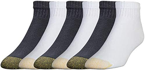Gold Toe Men's 656p Cotton Quarter Athletic Socks, Multipairs