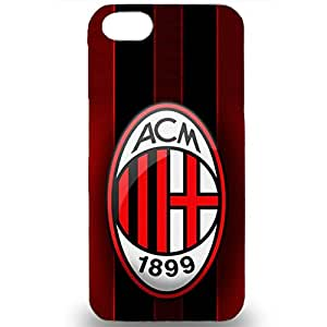 Associazione Calcio Milan Skin Case Football Team Logo Case Durable AC Milan Logo Phone Case for Iphone 5/5s