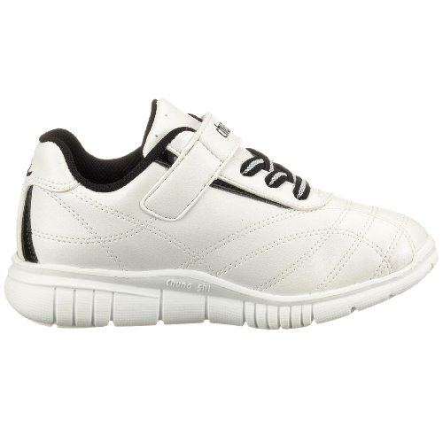 Chung Shi Dux Elliot 800820 Zapatos para Niños con Cierre de Velcro, Blanco, Talla 32-33 Blanco