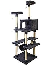i.Pet Cat Scratching Tree Gym House Scratcher Pole Furniture Multi-level 184cm