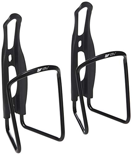 BV Bike Water Bottle Cage, Bicycle Alloy Lightweight Water Bottle Holder (15 Years Limited Warranty), Cycling Aluminum Water Bottle Cages, Water Bottle Brackets for Sports (2 Pack)