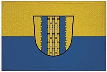 Fahne Flagge Aufb/ügler Patch 9 x 6 cm U24 Aufn/äher Ludmannsdorf K/ärnten