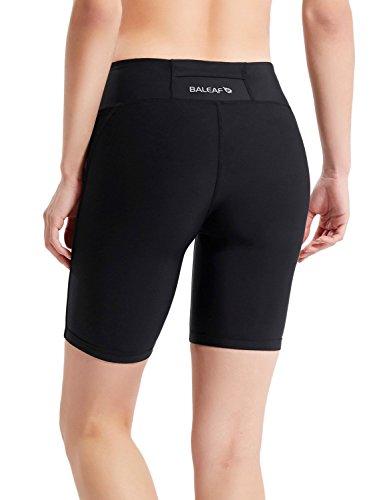 "Baleaf Women's 7"" Active Fitness Yoga Running Shorts ..."