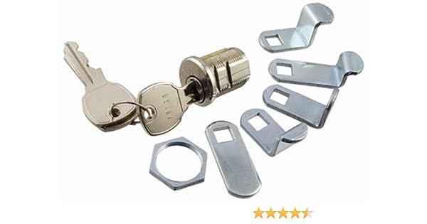 Bright Nickel Park Supply of America 97-16 Mailbox Lock