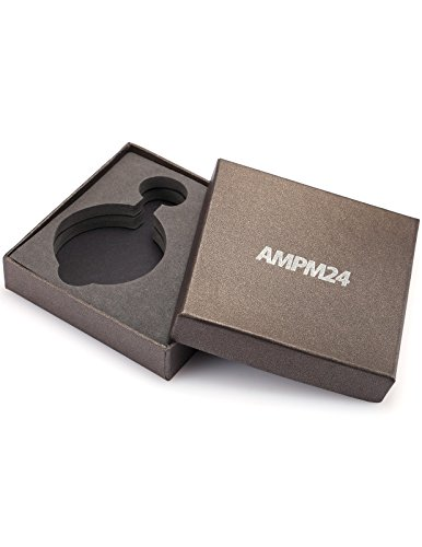 AMPM24 Vintage Black Men's Women Ladies Quartz Pendent Pocket Watch Clock Chain Gift WPK026 by AMPM24 (Image #5)