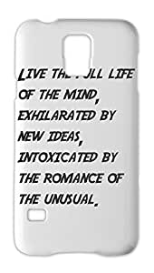 Live the full life of the mind, exhilarated by new ideas, Samsung Galaxy S5 Plastic Case