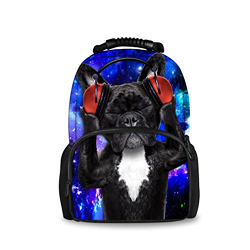 Backpack Students Female Large Capacity Backpack PU Floral Gold - 5