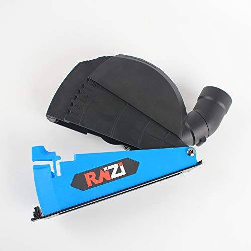 Raizi Universal Surface Cutting Dust Shroud For Angle Grinder 4-1 2 inch to 5 inch Dust Collector Attachment Cover Tool