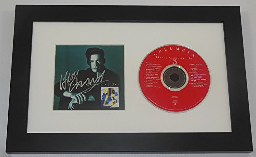 Harry Connick Jr. 25 Authentic Signed Autographed Music Cd Compact Disc Cover Framed Display Loa