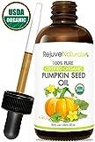 Organic Pumpkin Seed Oil (LARGE 4-OZ Bottle) USDA