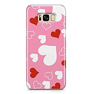 Samsung S8 Case Love Pattern Gift For Girls Sleek Durable Light Weight Samsung S8 Cover Wrap Around 110