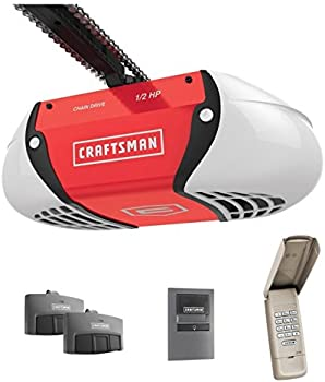 Craftsman 1/2 HP Chain Drive Garage Door Opener + $31.80 Credit