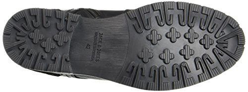 Black amp; JONES Leather JACK Nero Stivali Uomo Black Jfwhanibal Classici 5AIwqqdB