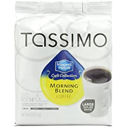 Maxwell House Morning Blend Coffee, Mild Roast, T-Discs for Tassimo Brewing Machines, 14 Count (Pack of 5)