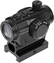 """Feyachi RDS-36 1x22mm 5 MOA Red & Green Dot Sight Micro red & Green dot Scope with 0.83"""" Riser Mount A"""