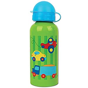 Stephen Joseph Stainless Steel Water Bottle, Transportation