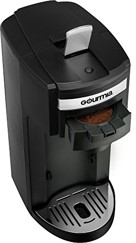 1 Cup Coffee Maker Using Ground Coffee : Gourmia GC150 JavaMaster 2-In-1 K-Cup and Ground Coffee Single Serve Coffee Maker with ...