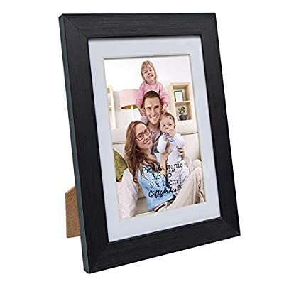 Giftgarden 3.5 x 5 Picture Frames Black Photo Frame with Mat for Wall or Tabletop Display -  - picture-frames, bedroom-decor, bedroom - 41lZ0ypUalL. SS400  -