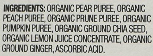 Plum Organics Baby Grow Well Food, Prune/Pear/Peach/Pumpkin with Chia Puree, 3.5 Ounce (Pack of 12) by Plum Organics (Image #3)