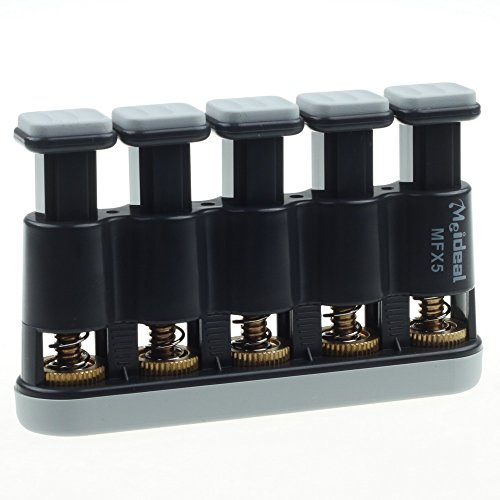 (Foto4easy Guitar Beginner Hand Exerciser Finger Strengthener Trainer (Grey))