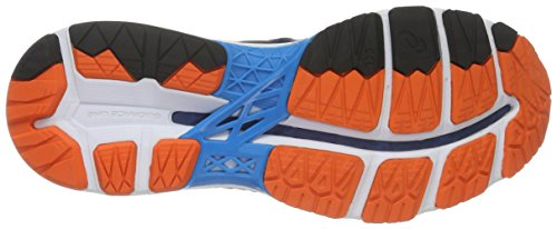 Asics Gel-Kayano 23, Scarpe da Corsa Uomo Blu (Poseidon/Flame Orange/Blue Jewel)