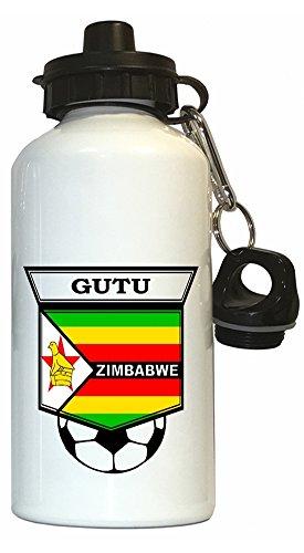 Archford Gutu (Zimbabwe) Soccer Water Bottle White