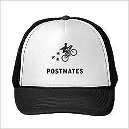 Amazon com: Funny Postmates Trucker Hat (0729860610319): Books