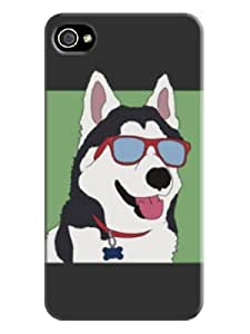 Cartoon Patterned Phone Case/cover for Iphone 4