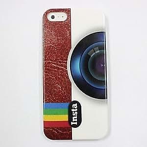 GONGXI-Modelo de la cámara retro estuche rígido del espejo para el iPhone 5/5S