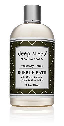 Deep Steep Bubble Bath, Rosemary Mint, 17 Ounce