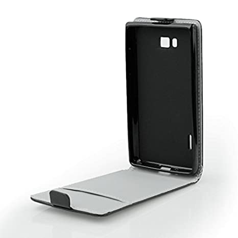 Flexi piel-imitación GTIN-menu a black P para Stylus LG G4 ...